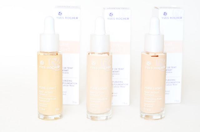 Yves Rocher   Pure Light moisturizing nude foundation Увлажняющая тональная основа-флюид