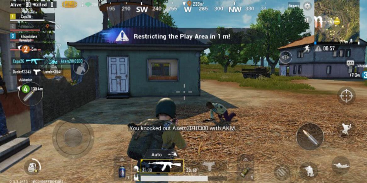 pubg mobile consejos zona de juego