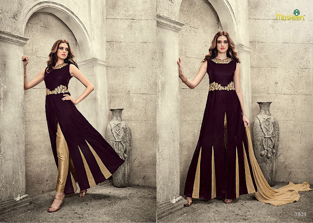 Buy Online Pant Style Anarkali Suit at Wholesale Price