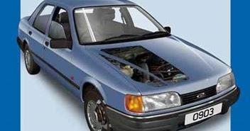 Haynes Ford Sierra Service And Repair Manual Automotive border=