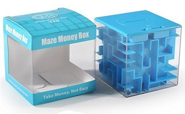 Money maze puzzle box - fun stocking stuffer gifts for men