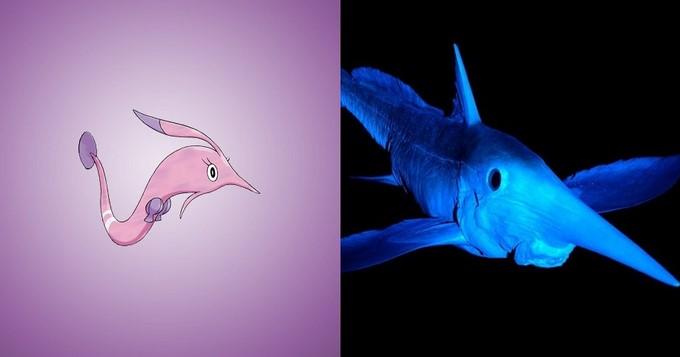 Pokemon-air-Gorebyss-Ikan-Chimaera