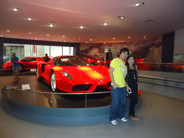 The Galleria Ferrari at Ferrari World Yas Island Abu Dhabi