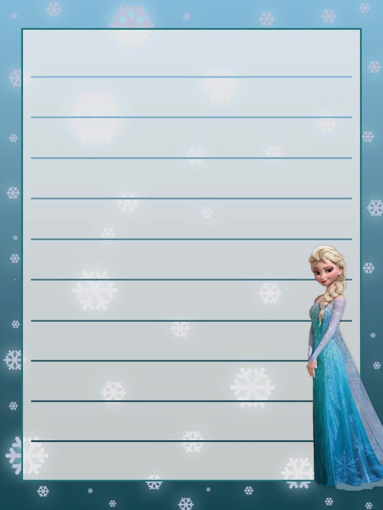 Frozen Free Printable Notebook Oh My Fiesta In English