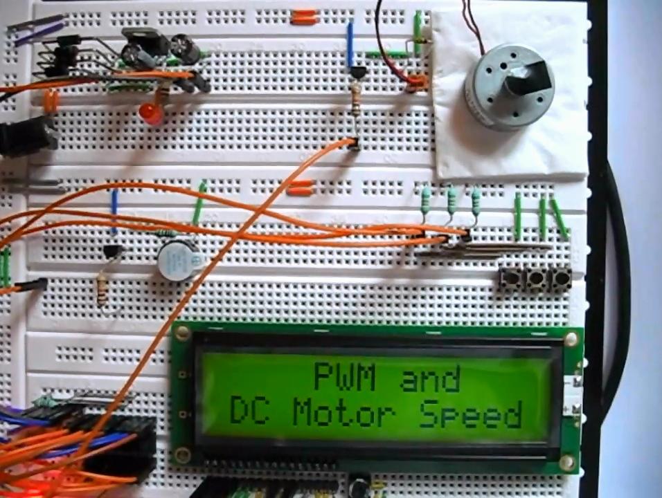 Dc Motor Speed Control Using Pwm Using Pic16f876