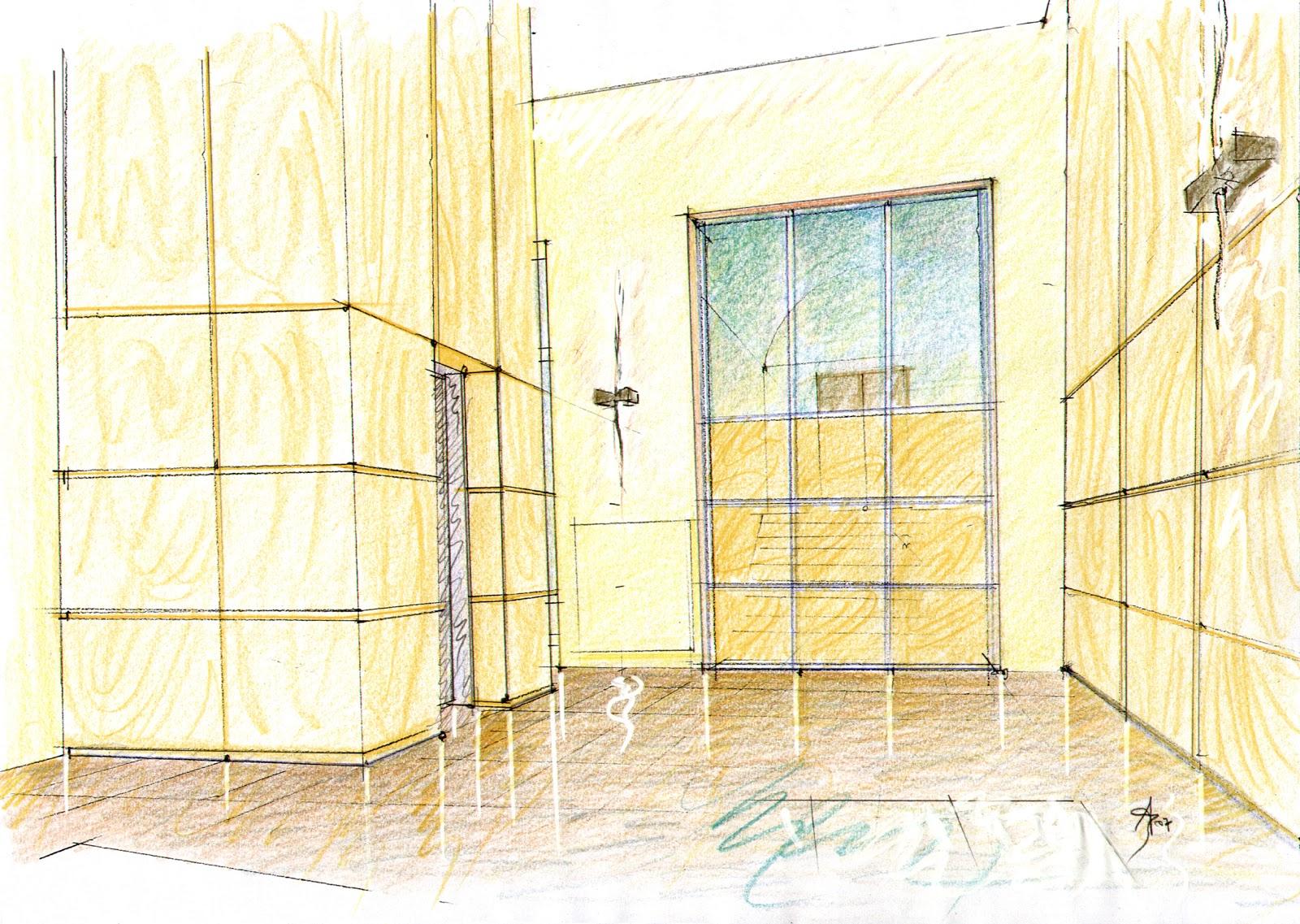 Vent 39 anni di disegni dell 39 arch antonio saporito disegni for Disegnare interni