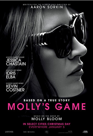 Molly's Game (2017) ταινιες online seires xrysoi greek subs