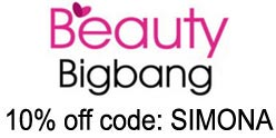 BeautyBigBang 10% off coupon code: SIMONA