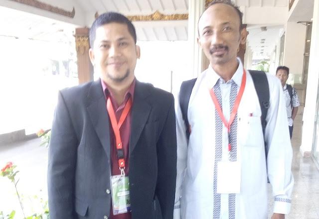 Herwin Hamid dalam Acara Seminar Nasional Guru Prestasi di Jakarta