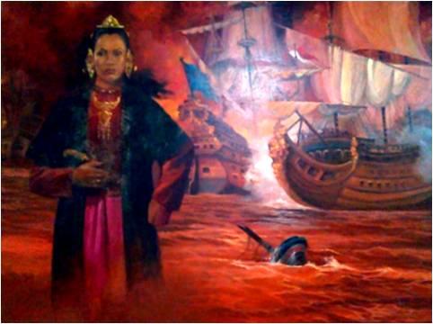 Ratu Kaliyamat, Rinha De Jepara Senhora Poderosa Erika