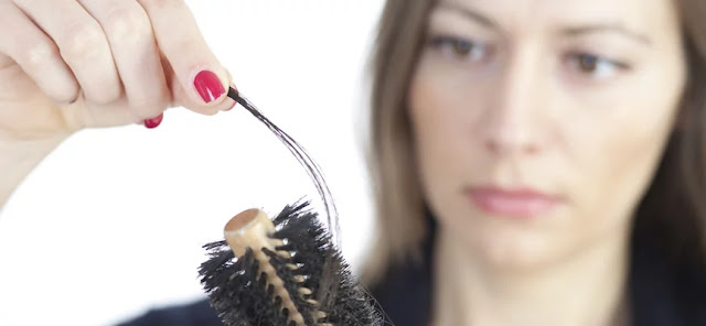 Hair Loss Due to Disturbed Blood Circulation