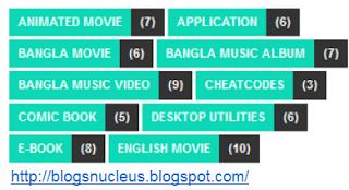 cute widget for blog