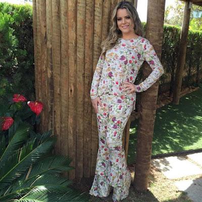 Ana Paula Valadão, C&A, vestido, grife