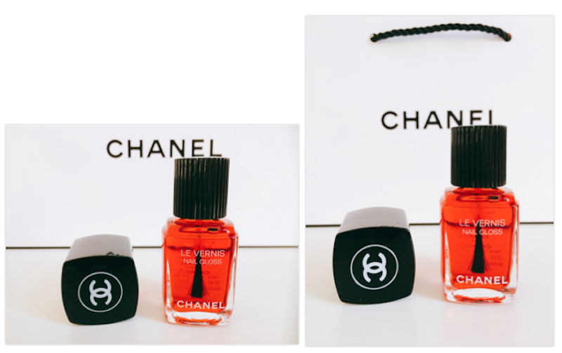 Nail gloss rouge Chanel