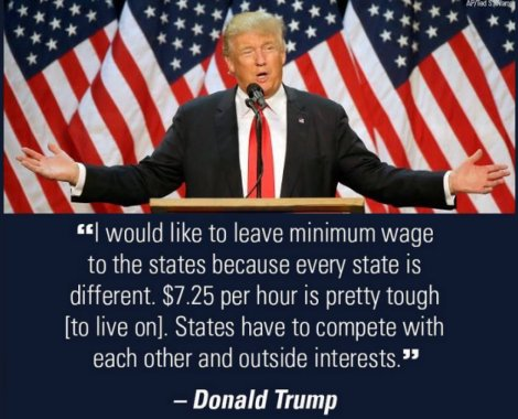 Trump Minimum Wage