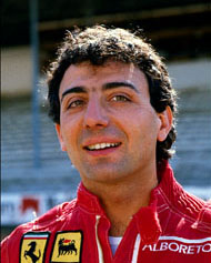 Michele Alboreto is the last Italian to win a Grand Prix in a Ferrari