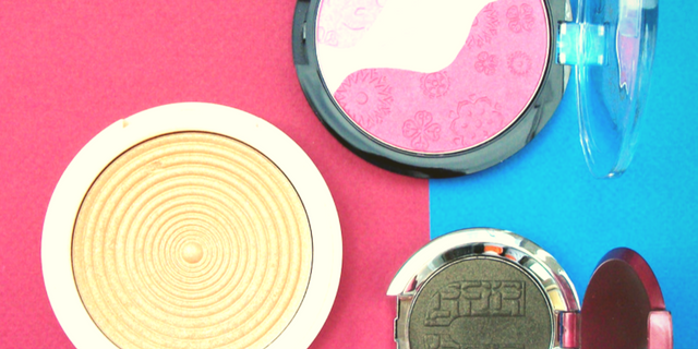 The most beautiful make-up products: 3D pans