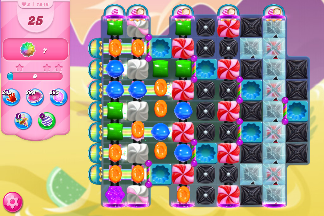 Candy Crush Saga level 7849