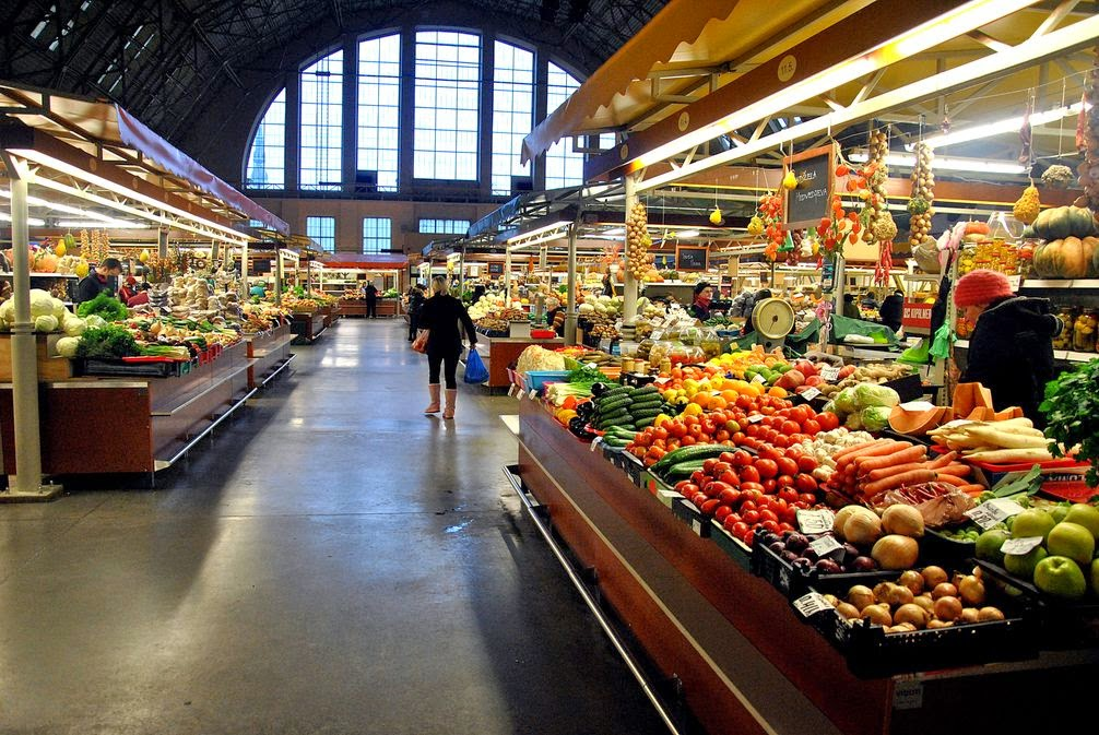 Riga central market,Interesting Attractions Riga, Capital of Latvia