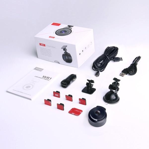 VIOFO WR1 Κάμερα DVR Αυτοκινήτου (FHD/mSD/WiFi/Sony IMX323)