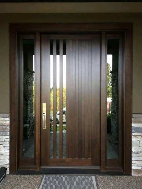 Contoh Pintu Rumah Minimalis Modern Terkini | Rumah Minimalis