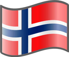 Norway Flag — WikiProject Nuvola, in the public domain