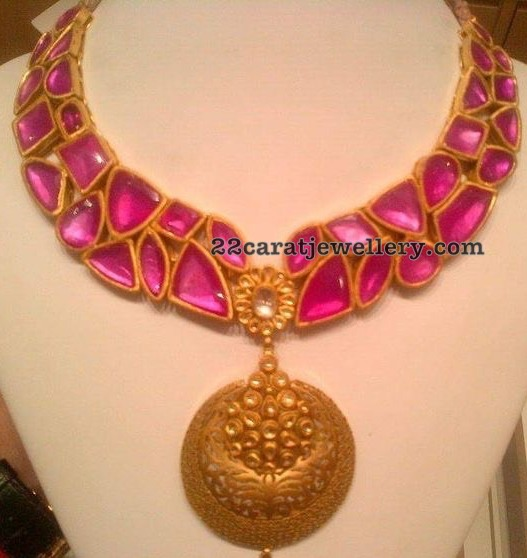 Attractive Ruby Necklace
