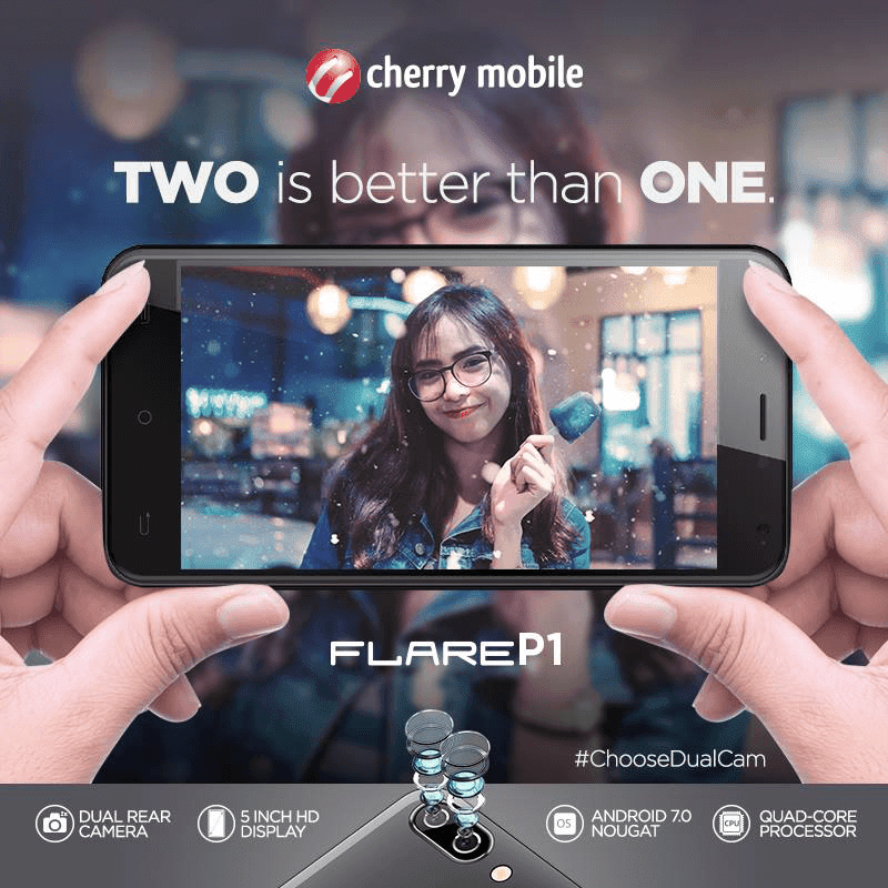 cherry-mobile-flare-p1 Cherry Mobile Flare P1 Goes Professional, The Most Affordable Dual Cam Phone For PHP 3999! Technology