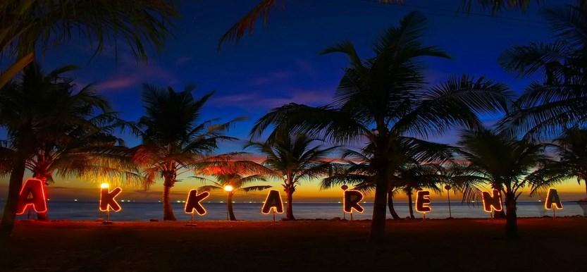 Pesta tahun baru Pantai Akkarena - Makassar