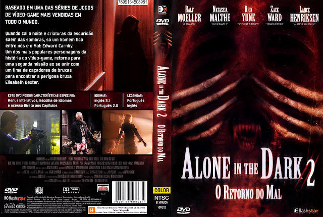 Capa DVD Alone in the Dark 2 - O Retorno do Mal