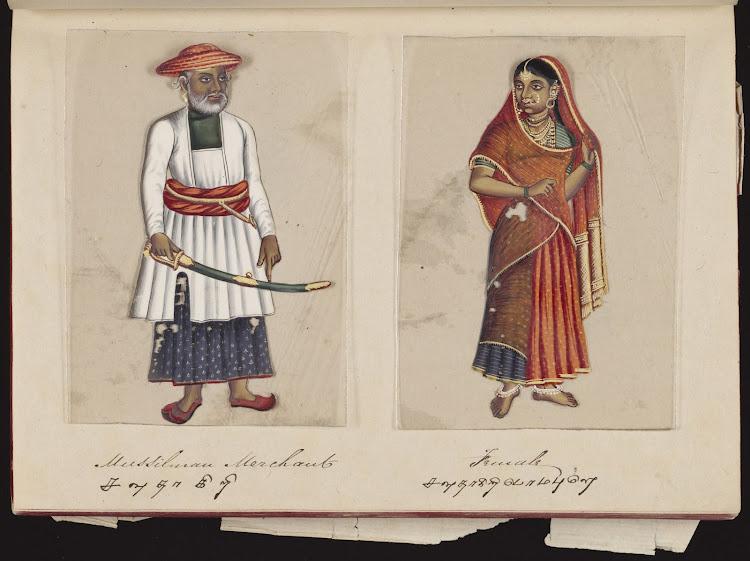 Muslim Merchant and Female