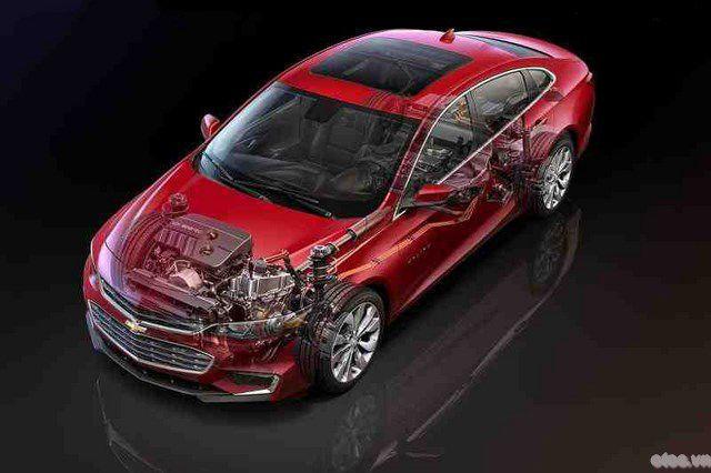 Xe Chevrolet Malibu Hybrid LT 2016 chốt giá