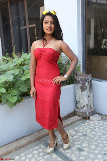 Mamatha sizzles in red Gown at Katrina Karina Madhyalo Kamal Haasan movie Launch event 237.JPG