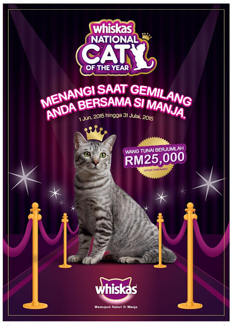 Whiskas National Cat of the Year 2015 in Malaysia