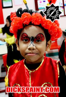 Face Painting Lady Bugs Kids Jakarta