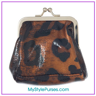 Miche Lisa Coin Purse - Bronze Leopard