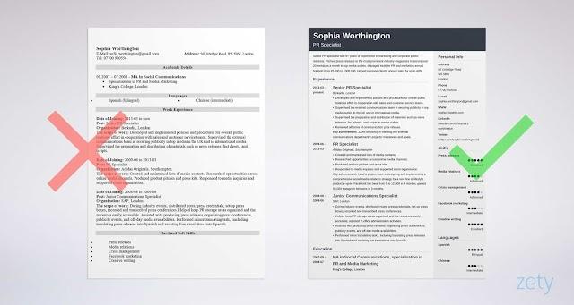 CV hazırlama qaydaları