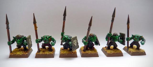 Goblins for Orcs & Goblins, Warhammer Fantasy Battle