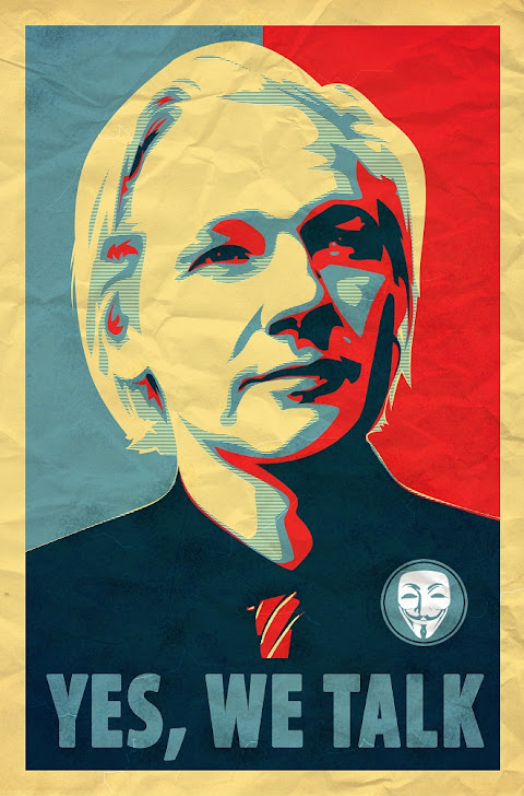 Julian Assange and Bradley Manning are Vested in Vision !