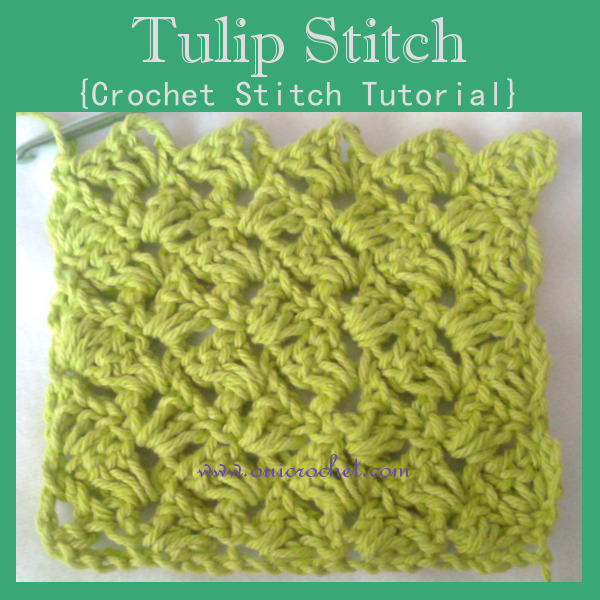 Crochet, Crochet Stitch Tutorial, Crochet Tulip Stitch, Stitch Tutorial, Tulip Stitch, Tutorial,