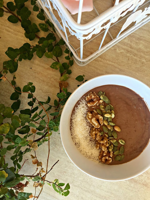 Fitness And Chicness-Banana Avocado Chocolate Bowl-2