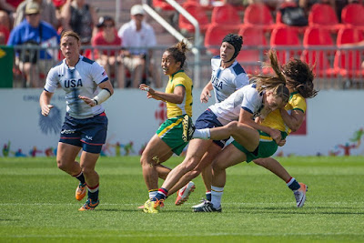 USA vs Colombia PyeongChang 2018 Rugby Sevens