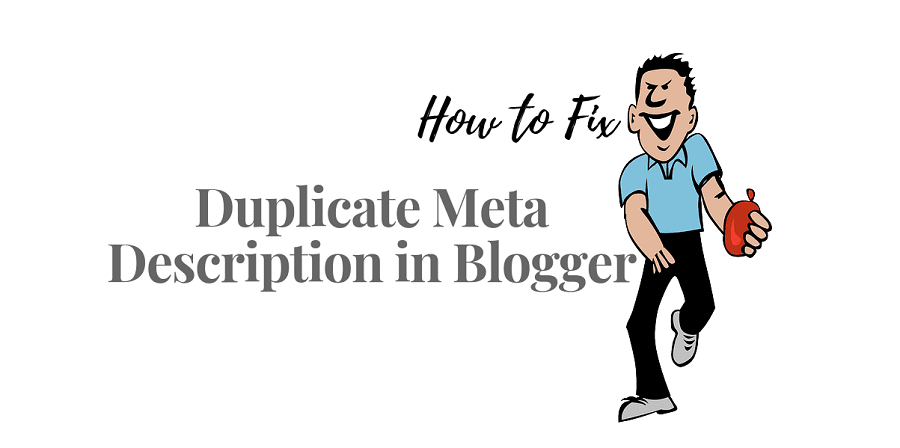 How to Solve Duplicate Meta Description in Blogger