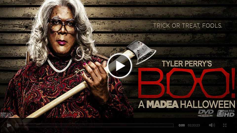watch boo a madea halloween 2016 full movie streaming