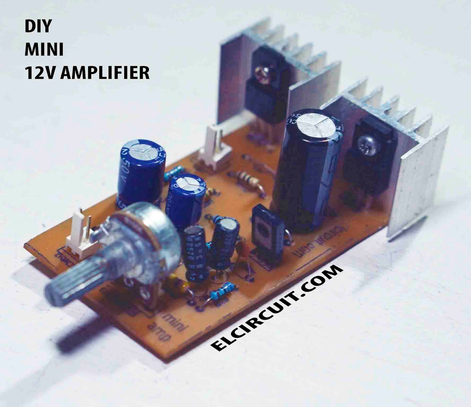 medium resolution of mini power amplifier circuit schematic