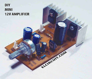 Mini Power Amplifier Circuit Schematic