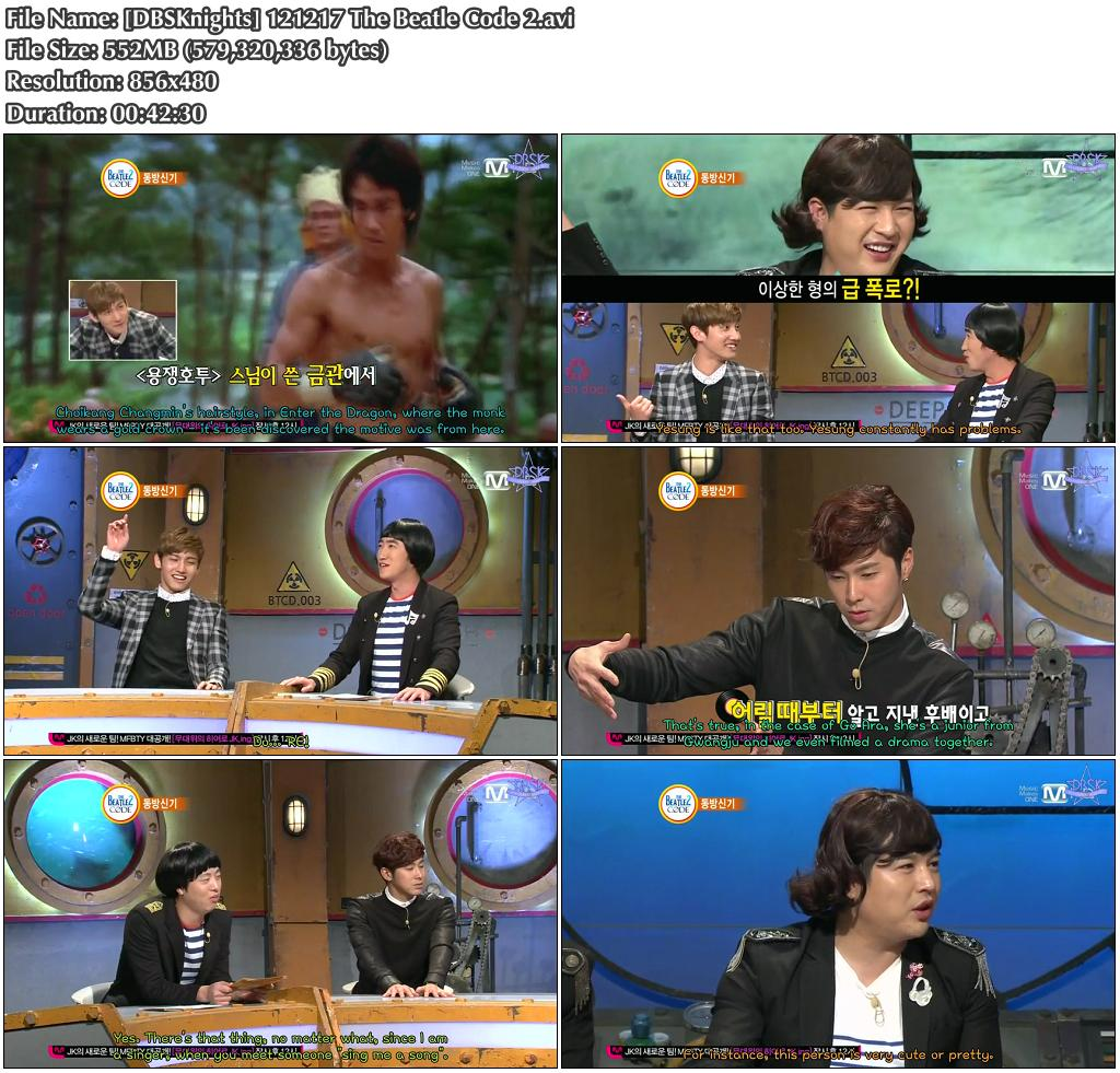 tvxq beatles code dailymotion age
