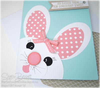 Easter Bunny Punch Art Card -DSC#220 Thursday Challenge