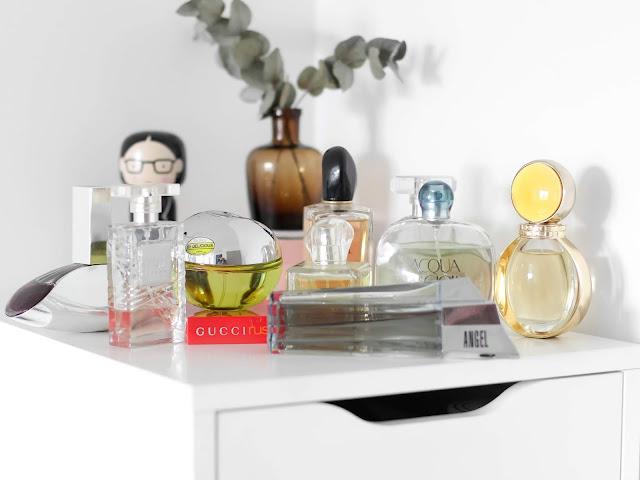kosmetikcá sbírka a sbírka parfémů
