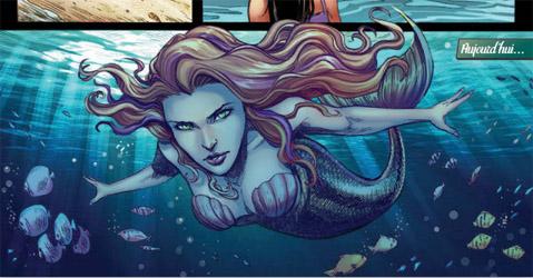 La Petite Sirène: un petit air de ressemblance avec Ariel et un personnage pourtant très différent
